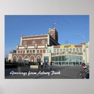 Teatro y convenio pasillo del parque NJ Paramount  Póster