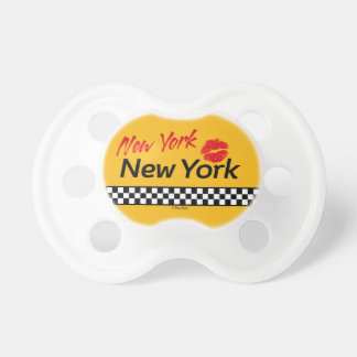Teats BooginHead Taxi NY & Red KIS Pacifier