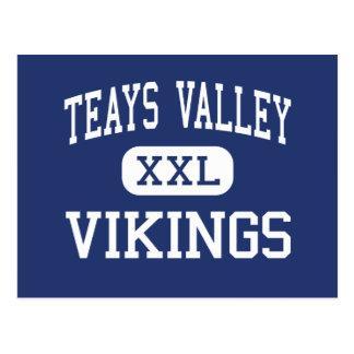 Teays Valley - Vikings - High - Ashville Ohio Postcard