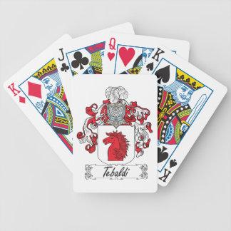 Tebaldi Family Crest Bicycle Card Deck