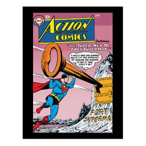Tebeos de acción #241 postales
