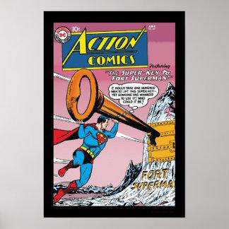 Tebeos de acción #241 póster