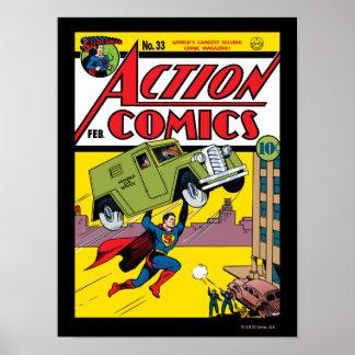 Tebeos de acción 33 posters