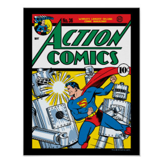 Tebeos de acción #36 posters