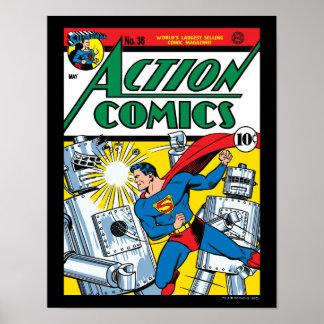 Tebeos de acción #36 póster