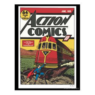 Tebeos de acción - junio de 1939 postales
