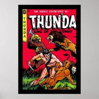Tebeos de Thunda Posters