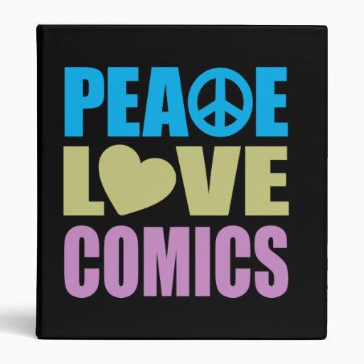Tebeos del amor de la paz
