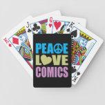 Tebeos del amor de la paz baraja