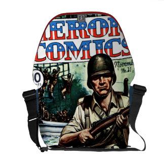Tebeos del héroe bolsas de mensajeria