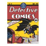 Tebeos detectives #27 postal