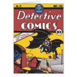 Tebeos detectives #27 tarjeta