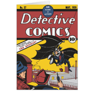 Tebeos detectives 27 tarjeta