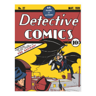 Tebeos detectives #27 tarjetas postales