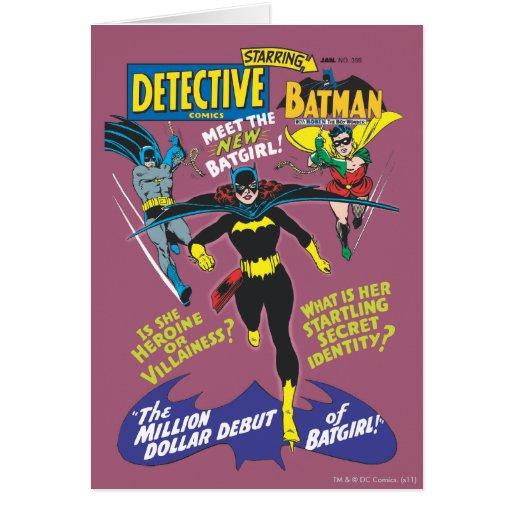 Tebeos detectives #359 tarjeta de felicitación