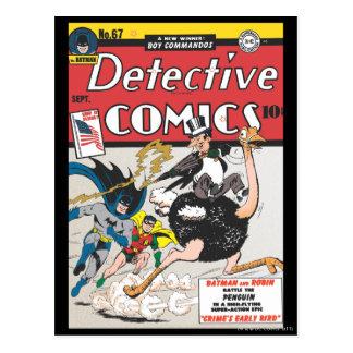 Tebeos detectives #67 tarjetas postales