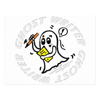 Tebeos divertidos del escritor de fantasma que postales
