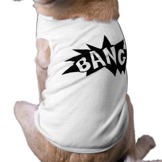 tebeos ruidosos de las acciones de los sonidos de  camisetas mascota