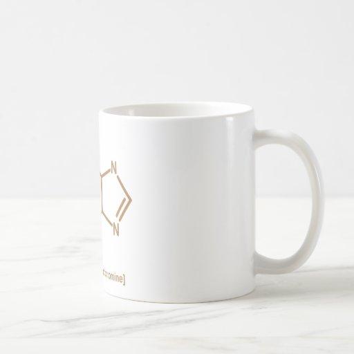 Tebromina del chocolate tazas