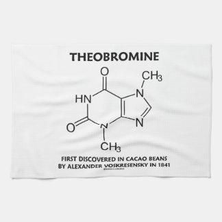 Tebromina primero descubierta en las habas 1841 de toallas