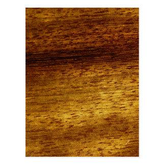Teca de madera postales