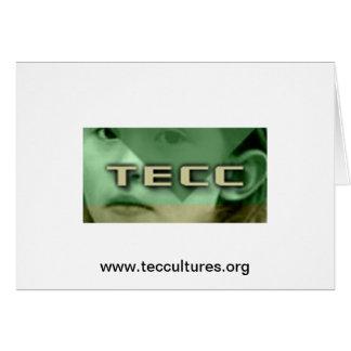 TECC Little Girl logo Card