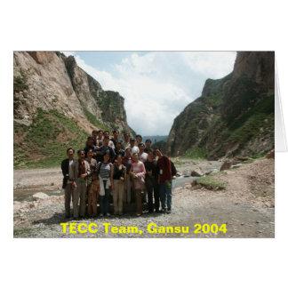 TECC Team, Gansu 2004 Card