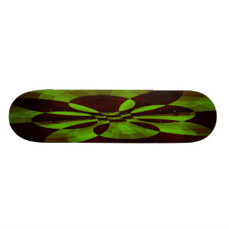Tech Abstract Fractal Skateboard Deck