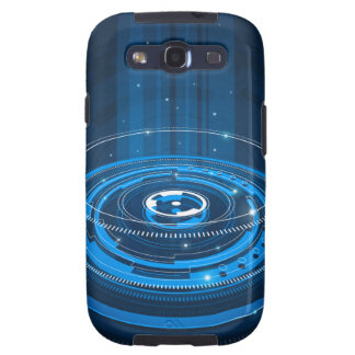 Tech blue case galaxy SIII covers