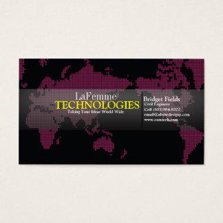 Tech Chic Business Card