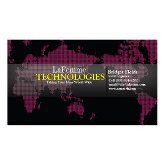 Tech Chic Business Card Template