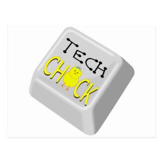 Tech Chick Postcard