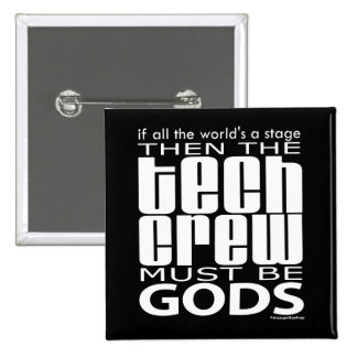 Tech Crew Gods 2 Inch Square Button