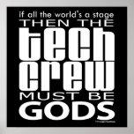 Tech Crew Gods Poster