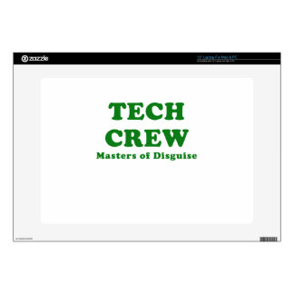 """Tech Crew Masters of Disguise Decal For 15"""" Laptop"""