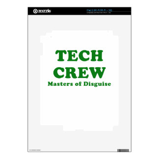 Tech Crew Masters of Disguise iPad 2 Skins