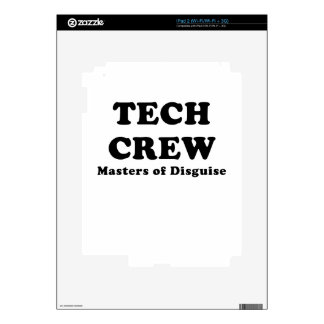 Tech Crew Masters of Disguise Skin For iPad 2