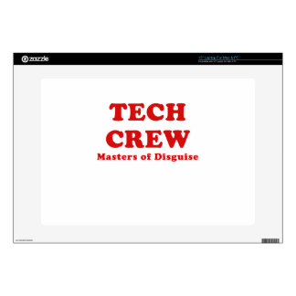 Tech Crew Masters of Disguise Laptop Decals