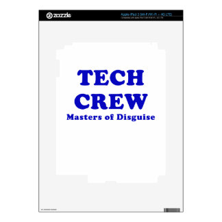 Tech Crew Masters of Disguise iPad 3 Skins