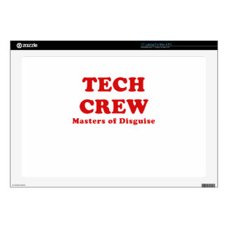 Tech Crew Masters of Disguise Laptop Decal