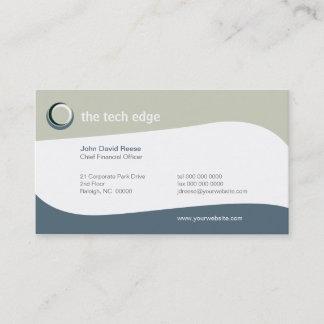 Tech Curves Business Card
