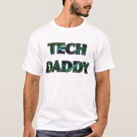 """TECH DADDY"" Dark Space Design T-Shirt"