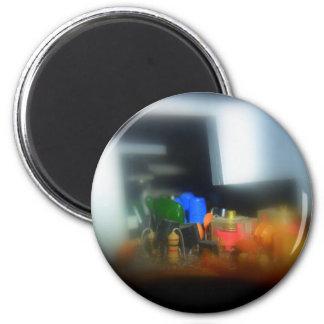 tech design look inside a radio magnet