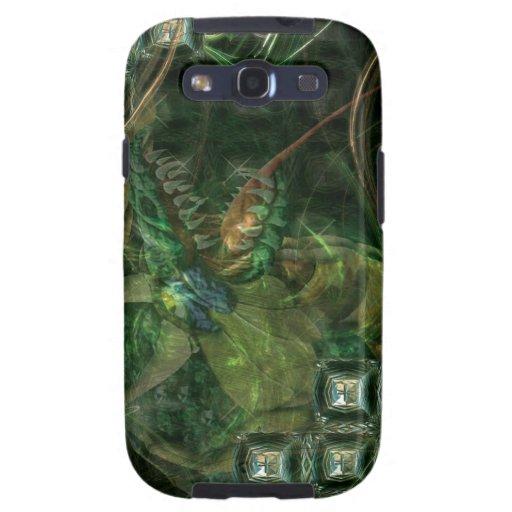 Tech Green Dragon Samsung Galaxy S3 Cases