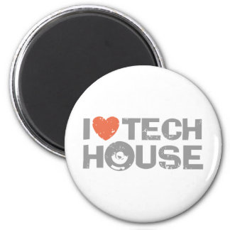 Tech House Refrigerator Magnets