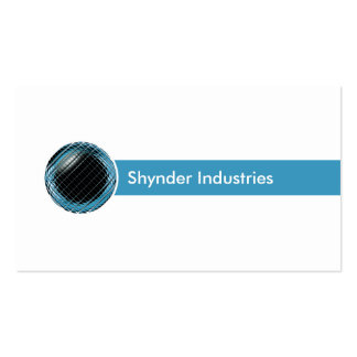 Tech Industries Business Card Template