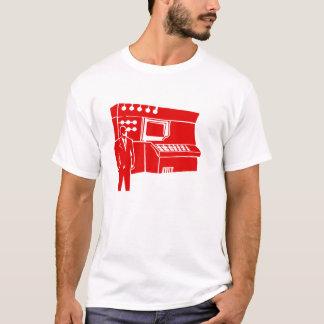 Tech Lab 7  Red T-Shirt