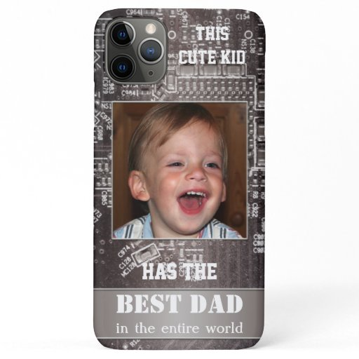 Tech Motherboard Father Photo Phone Case