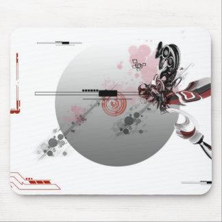 tech render mouse pad