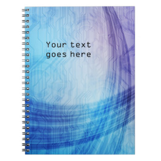Tech style notebook
